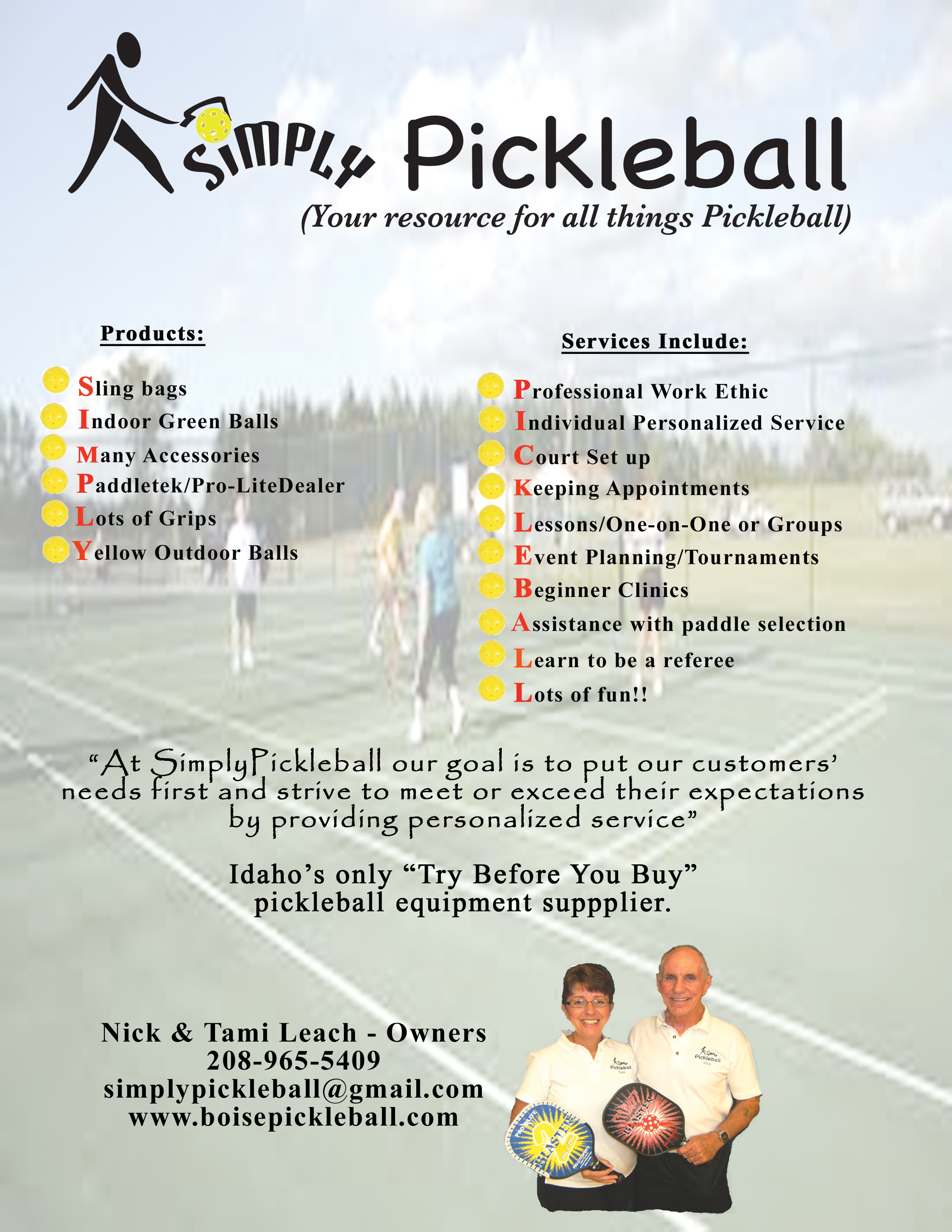 simply pickleball